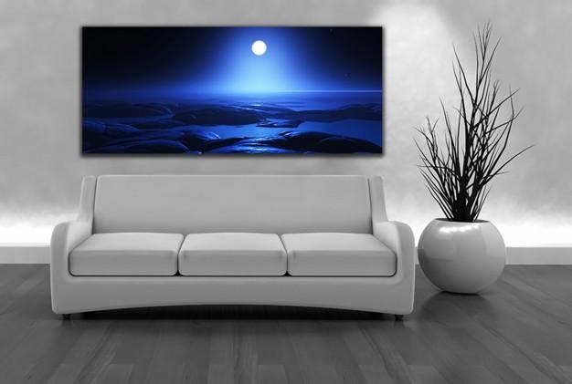 תמונת קאנבס של לילה